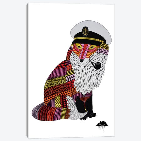 Fabio The Fox Canvas Print #JOL21} by MULGA Canvas Art