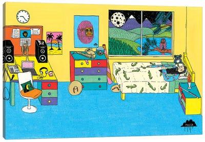 Mulgas Magical Musical Creatures: Bedroom Scene Canvas Art Print