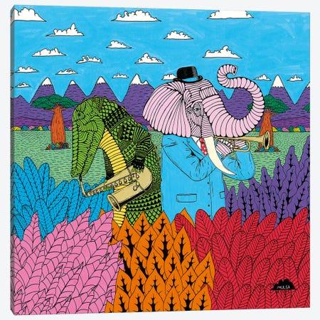 Mulgas Magical Musical Creatures, Cover Canvas Print #JOL27} by MULGA Art Print