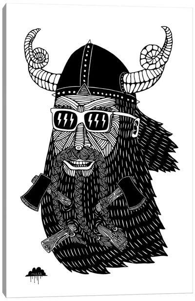 Axebeard Allen The Viking Canvas Art Print