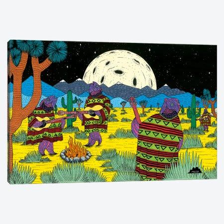 Mulgas Magical Musical Creatures: Fishes Canvas Print #JOL31} by MULGA Canvas Art Print