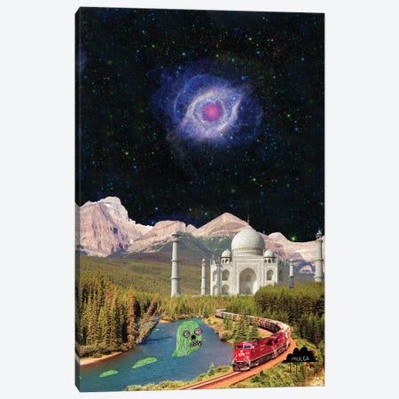 Taj Mahal Canvas Print #JOL38} by MULGA Art Print