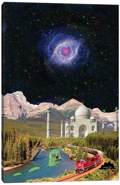 Taj Mahal Canvas Art Print