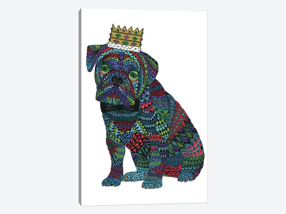 Billy The Bulldog by MULGA 1-piece Canvas Artwork