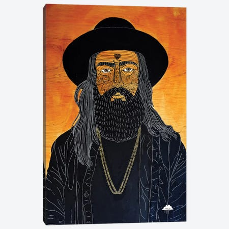 Dangerous Deano Canvas Print #JOL43} by MULGA Canvas Art