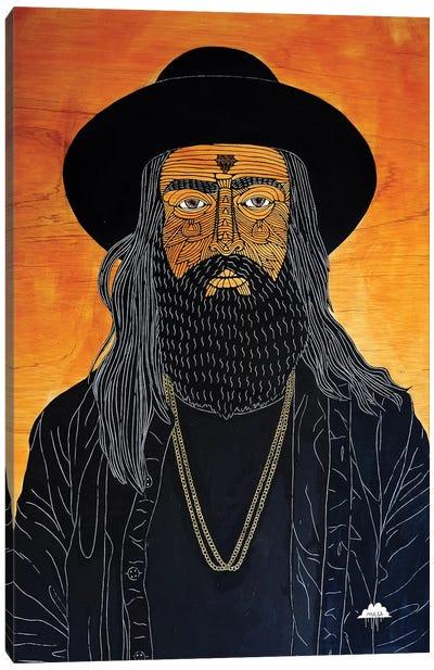 Dangerous Deano Canvas Art Print
