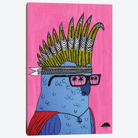 Kevin The Cockie Canvas Print #JOL45} by MULGA Canvas Art Print