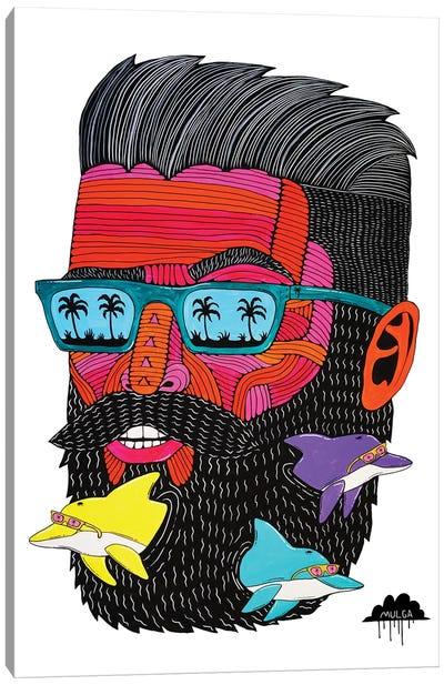 Porpoise Pete Canvas Art Print