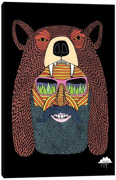 Bear Hat Bob Canvas Art Print