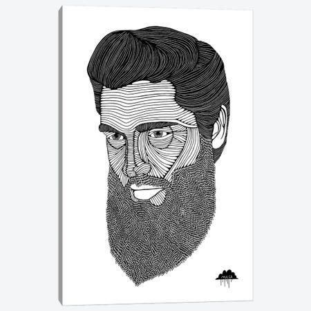 Bearded Elvis Canvas Print #JOL5} by MULGA Art Print
