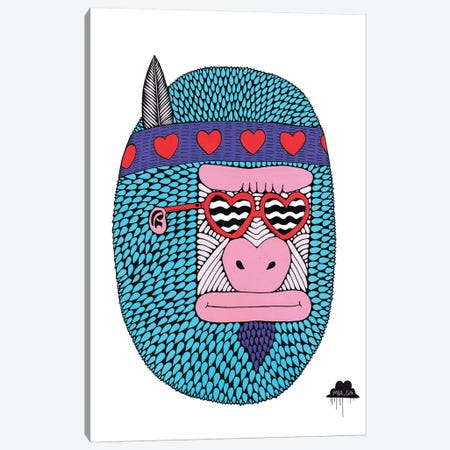 Camilla The Love Gorilla Canvas Print #JOL7} by MULGA Canvas Art Print