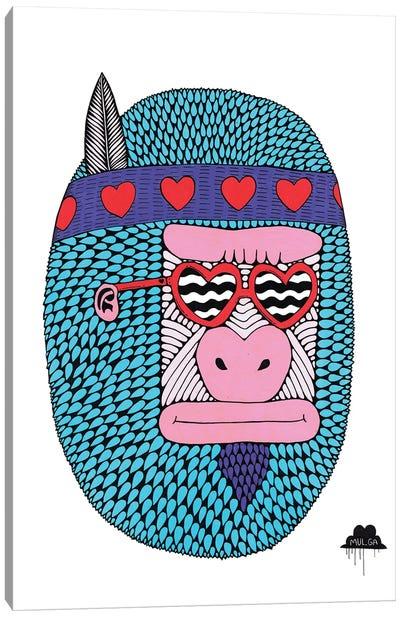 Camilla The Love Gorilla Canvas Art Print