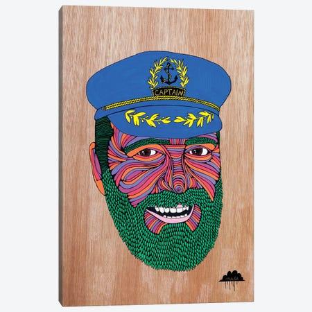 Captain Dad Canvas Print #JOL9} by MULGA Canvas Wall Art