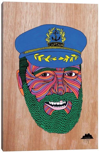Captain Dad Canvas Art Print