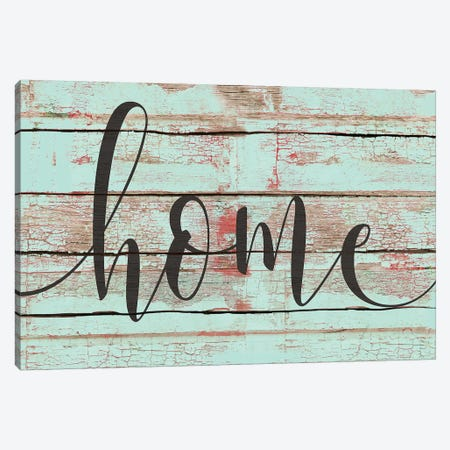 Home Canvas Print #JOM11} by Jo Moulton Canvas Artwork