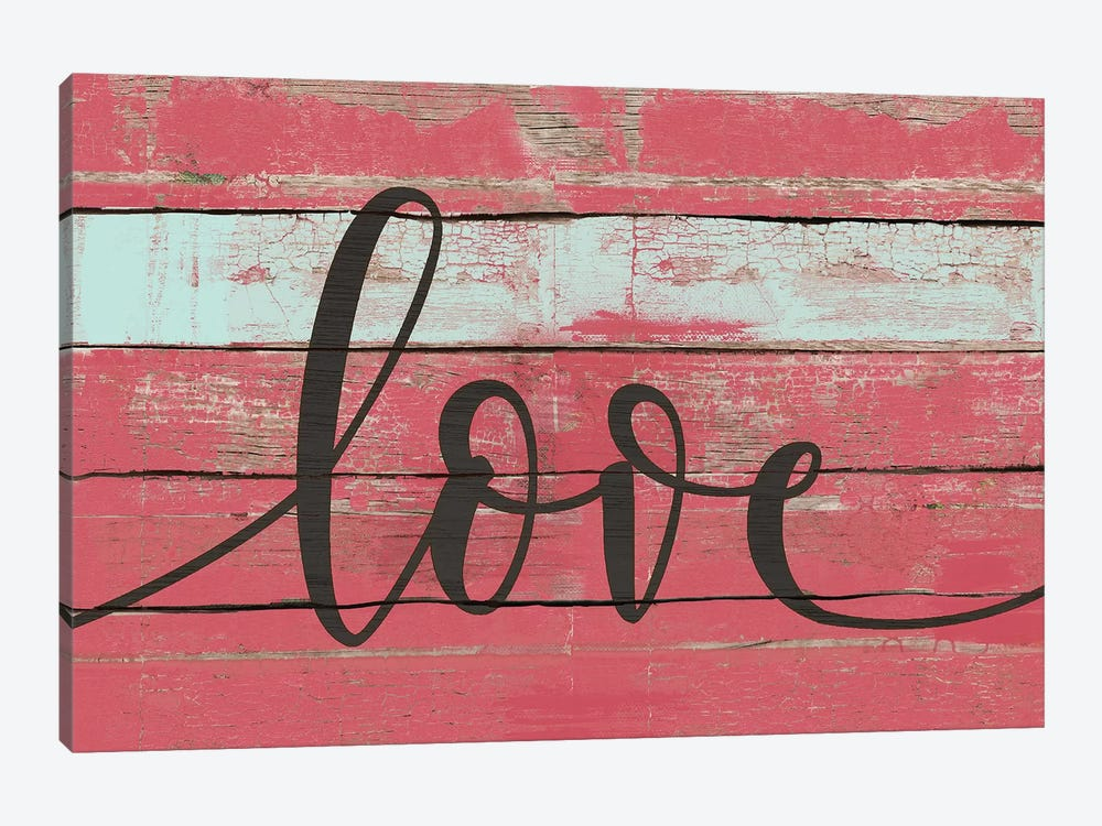 Love by Jo Moulton 1-piece Canvas Art Print