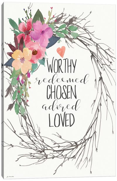 Adored Love Canvas Art Print