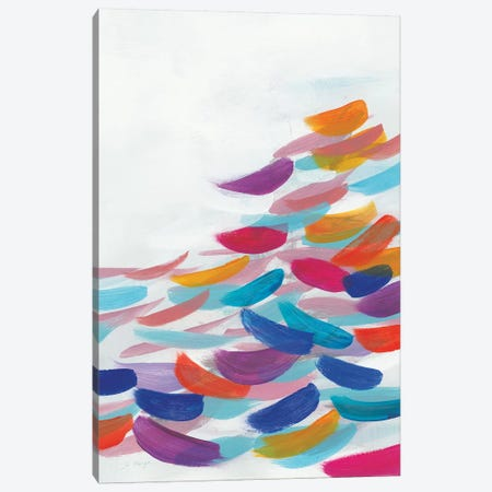 Drift Bright Canvas Print #JOM28} by Jo Maye Canvas Print