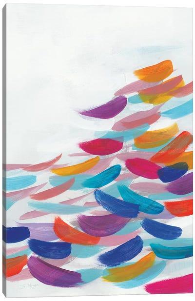 Drift Bright Canvas Art Print