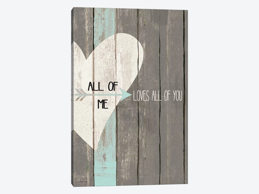 All Of Me by Jo Moulton 1-piece Canvas Art