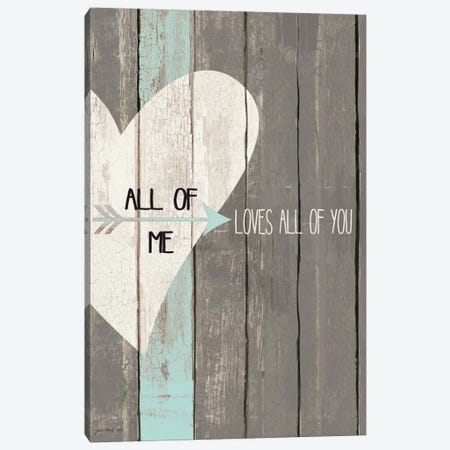 All Of Me 3-Piece Canvas #JOM3} by Jo Moulton Canvas Art Print