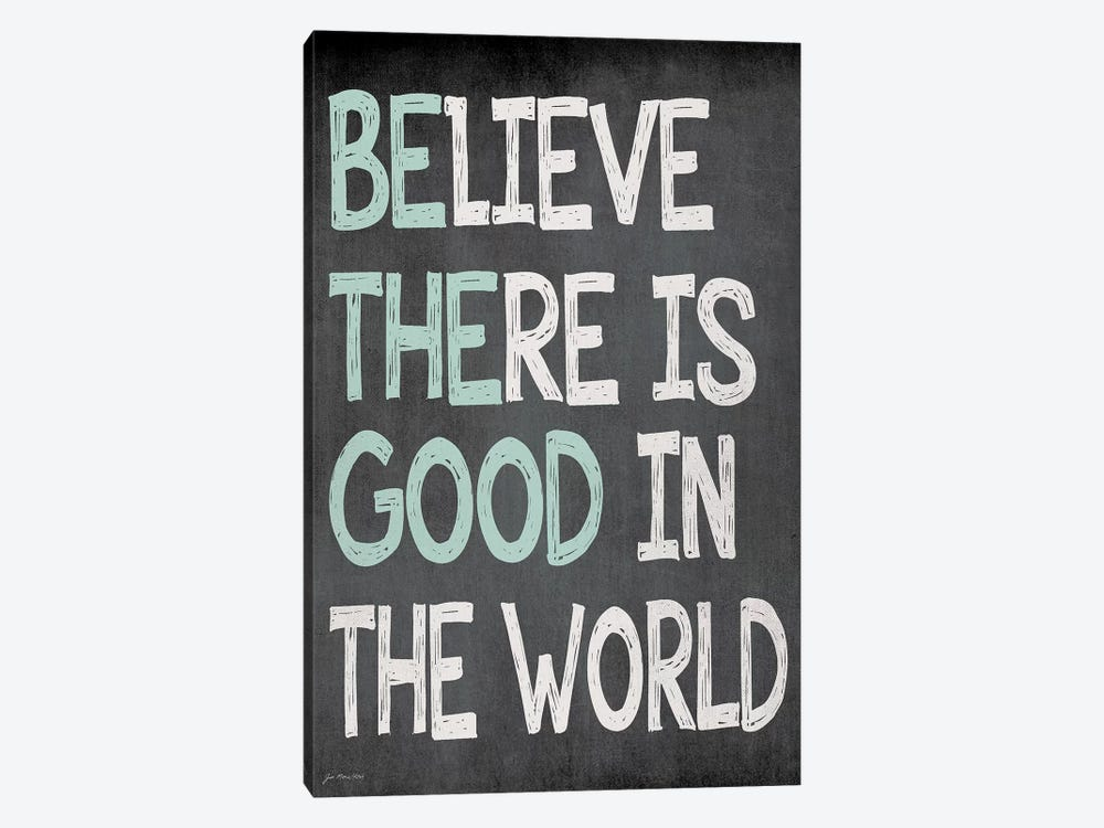 Be The Good by Jo Moulton 1-piece Canvas Art Print