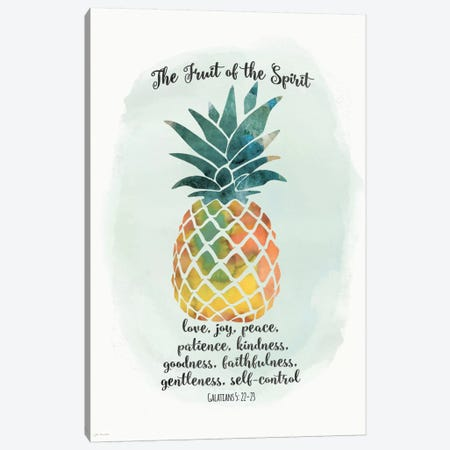 Fruit Spirit Canvas Print #JOM8} by Jo Moulton Art Print