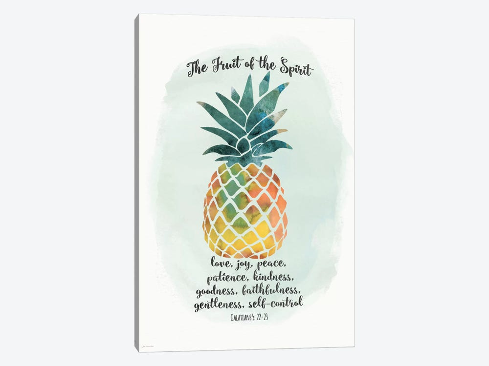 Fruit Spirit by Jo Moulton 1-piece Canvas Art Print