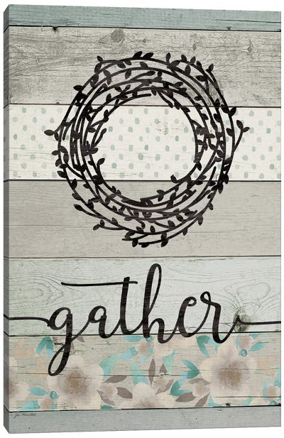 Gather Canvas Art Print