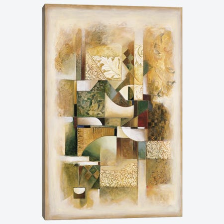 Abstract collage I Canvas Print #JON1} by Jonathan Parsons Canvas Artwork