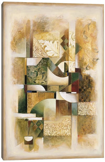 Abstract collage I Canvas Art Print