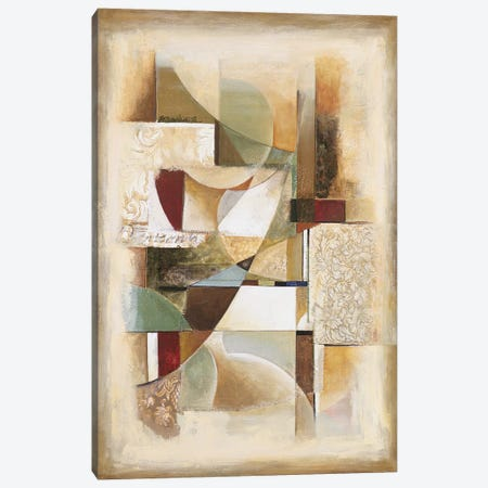 Abstract collage II Canvas Print #JON2} by Jonathan Parsons Canvas Wall Art
