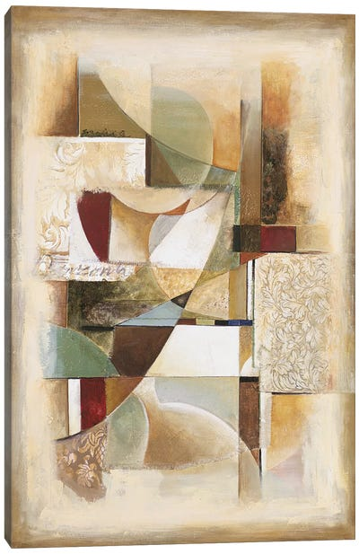 Abstract collage II Canvas Art Print