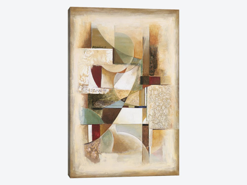 Abstract collage II by Jonathan Parsons 1-piece Canvas Artwork