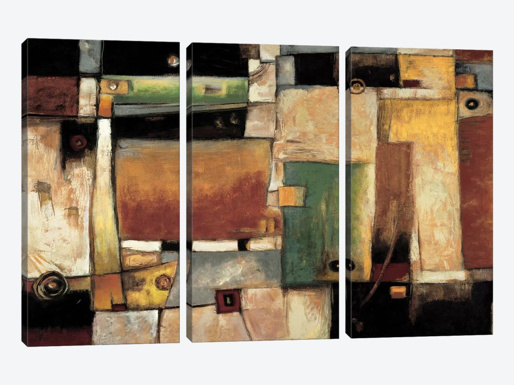 Strata by Jonathan Parsons 3-piece Canvas Wall Art