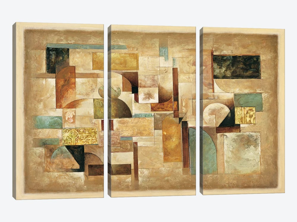 Texture I by Jonathan Parsons 3-piece Canvas Art Print