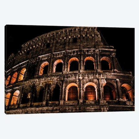 Rome Colloseum Canvas Print #JOR103} by Anders Jorulf Art Print