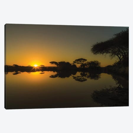 Sunset Reflections Canvas Print #JOR108} by Anders Jorulf Art Print