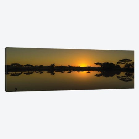 The African Sunset Canvas Print #JOR109} by Anders Jorulf Art Print