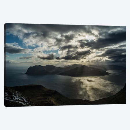 The Faroe Islands Canvas Print #JOR111} by Anders Jorulf Canvas Wall Art