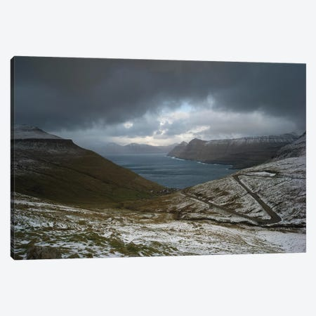 The Faroe Islands Road Canvas Print #JOR112} by Anders Jorulf Canvas Art
