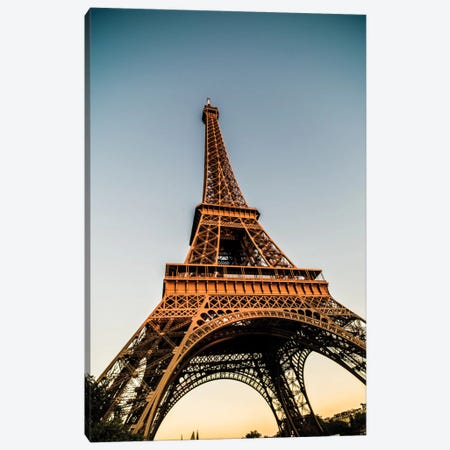 Eiffel Canvas Print #JOR11} by Anders Jorulf Canvas Art Print