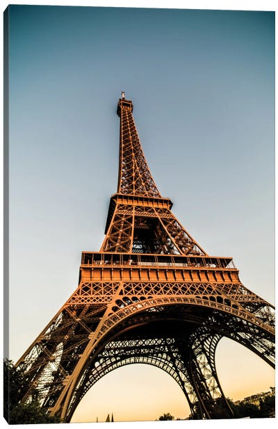 Eiffel Canvas Art Print