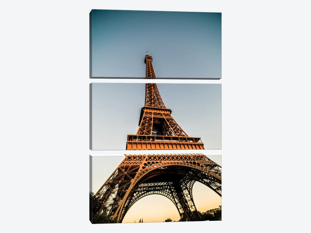 Eiffel by Anders Jorulf 3-piece Canvas Wall Art