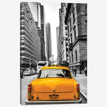 Checker In New York Canvas Print #JOR123} by Anders Jorulf Canvas Print