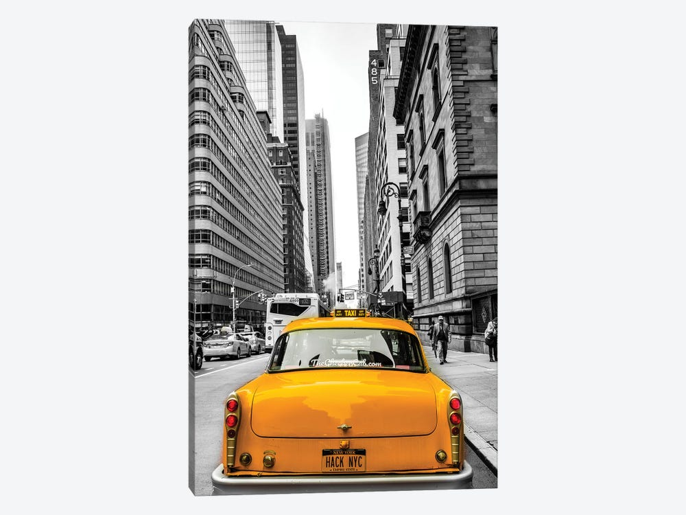Checker In New York by Anders Jorulf 1-piece Canvas Artwork