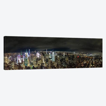 NYC Skyline Canvas Print #JOR128} by Anders Jorulf Canvas Art Print