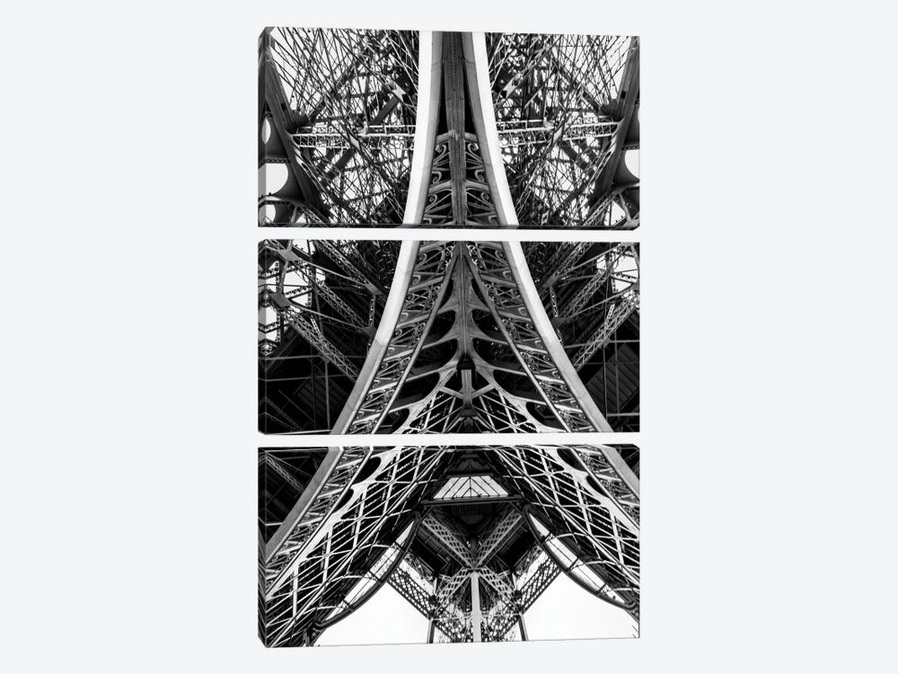 Eiffel Tower by Anders Jorulf 3-piece Canvas Print