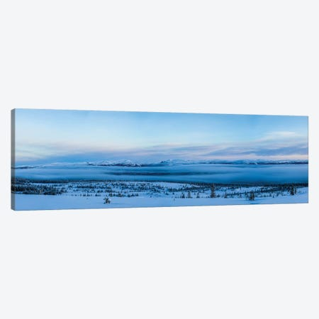 Cold Morning Canvas Print #JOR144} by Anders Jorulf Canvas Artwork