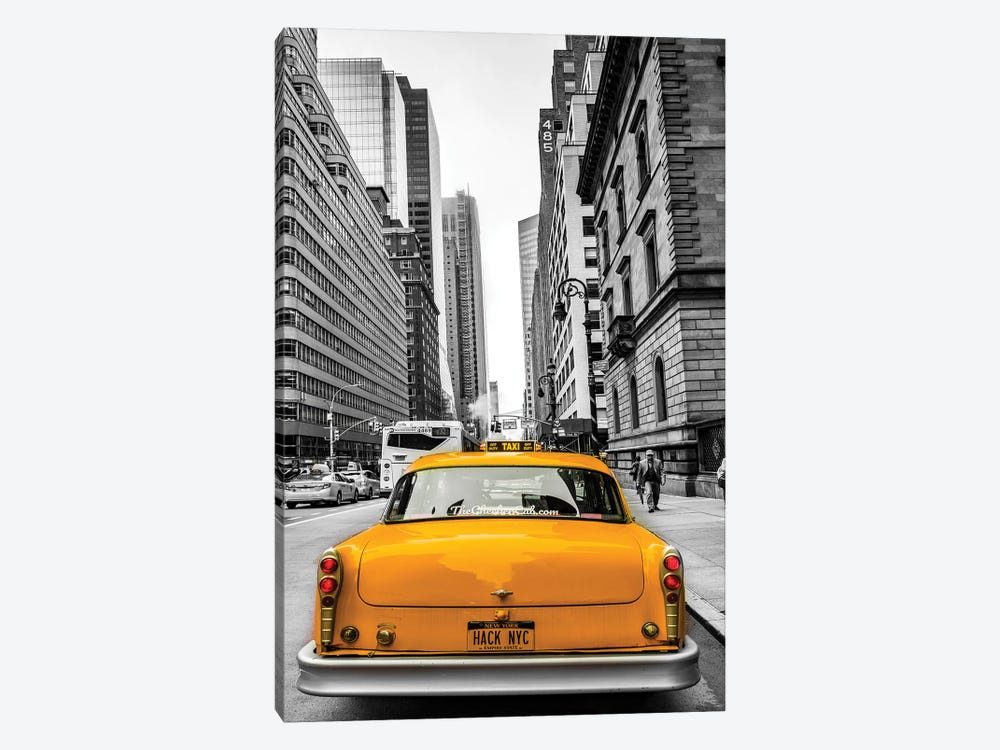 Cab In Nyc by Anders Jorulf 1-piece Art Print